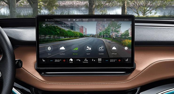Interior Display Driving Modes
