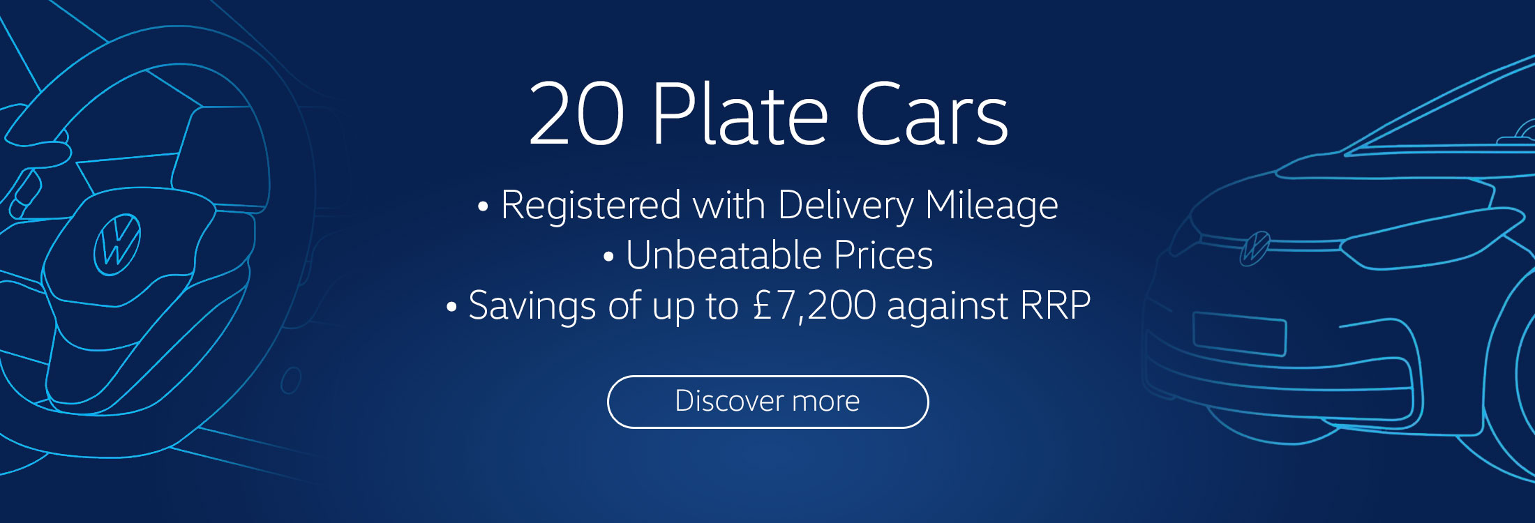 20 Plate Offers Delivery Mileage